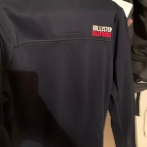 Hollister 1/4 zip up jacket
